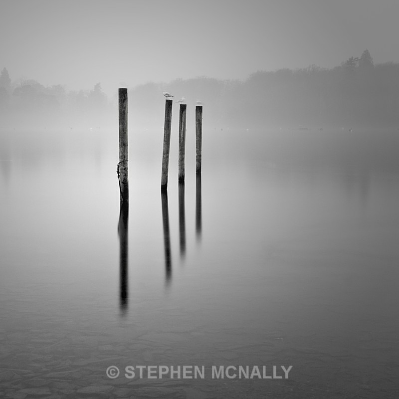 Mist on the  Water , Windermere English Lake District - Landscapes
