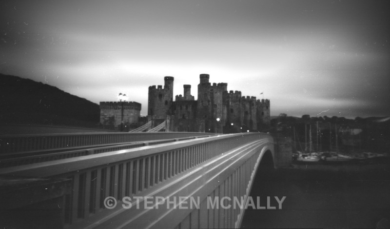 Conwy Castle - Pinhole Photography