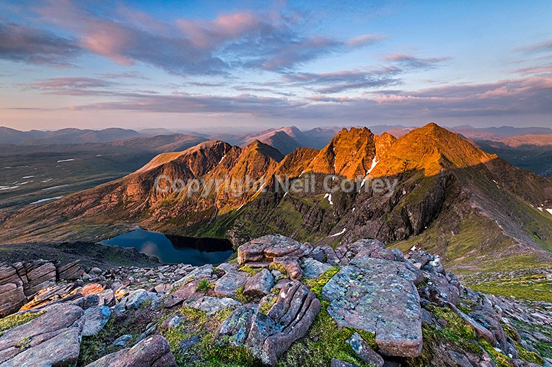 An Teallach and Fisherfield Forest, Highland - Landscape format
