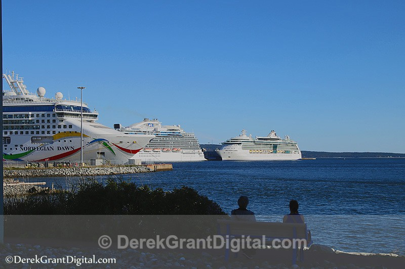 Ship Spotting Cruise Ships Saint John New Brunswick Canada - Cruise Ships