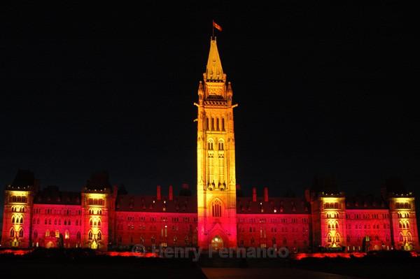Parliament Light Show 4 - Summer