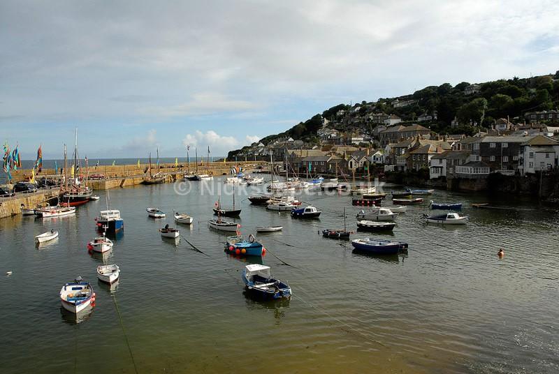 Mousehole Harbour -  Cornwall UK - Cornwall