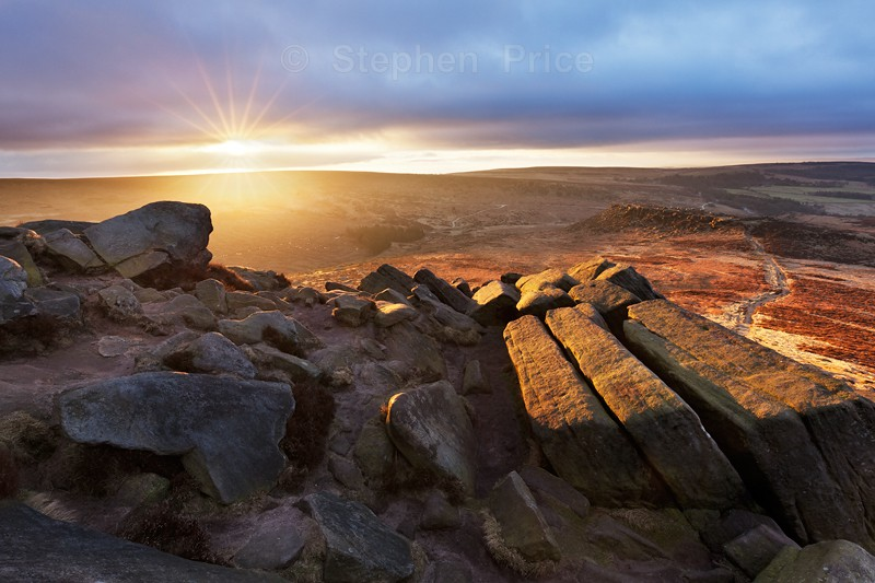 Higger Tor | Kit Kat Rocks | Peak District Sunrise
