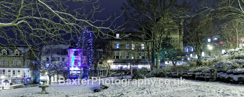 A Snowy Evening On Montpellier Hill - Harrogate Town