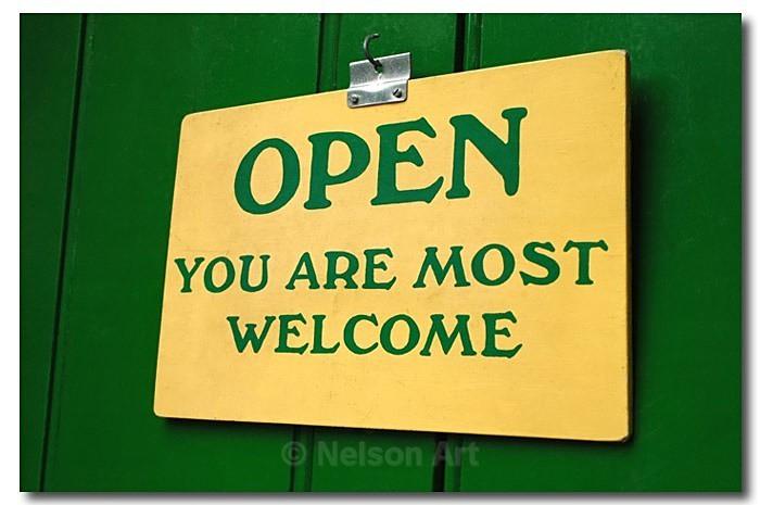 Open - It's A Sign