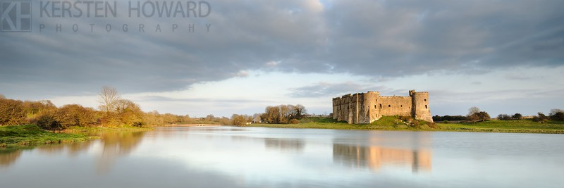 Past Reflections - Carew Castle - Images from book