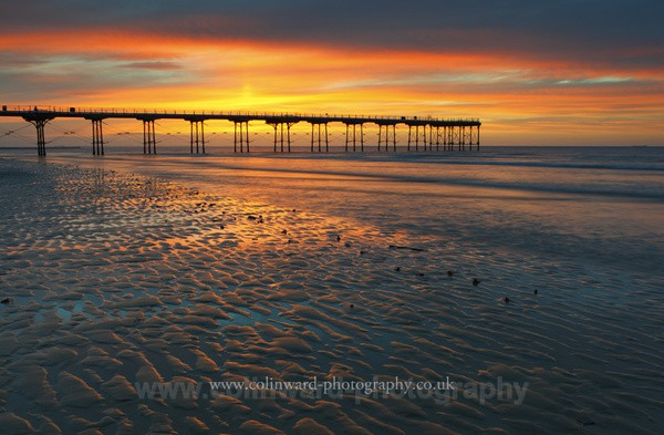 Summer Sunset at Saltburn    Ref 4281 - North Yorkshire and Cleveland