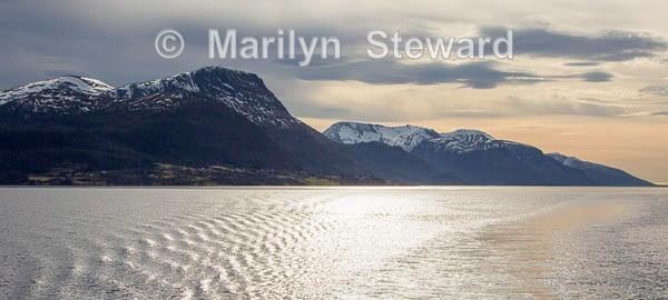 Fjord sunset - Norway Coast