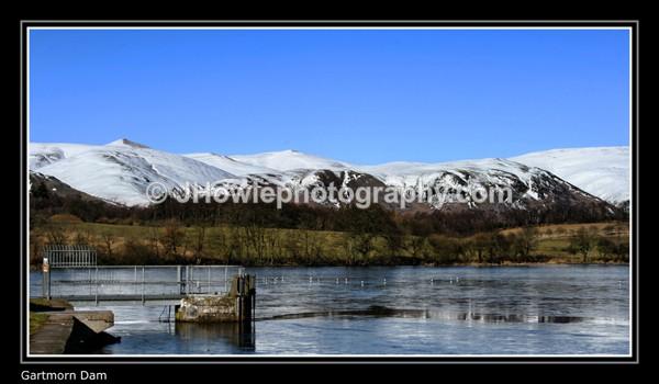 gartmorn dam - clackmannanshire