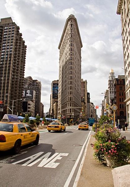 flatiron building - New York