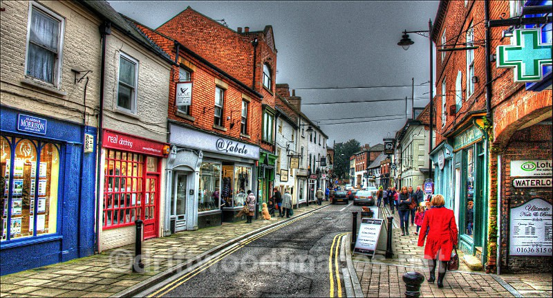 Southall main street 3 HDR reduced - High Dynamic Range pictures