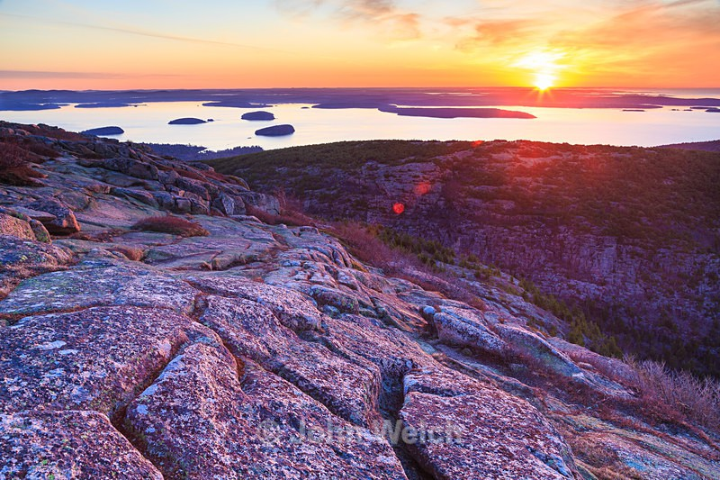 Cadillac Mountain Sunrise - Maine