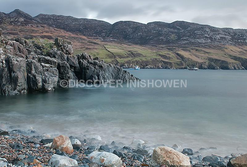 Lenan Bay and Urris hills - Inishowen peninsula
