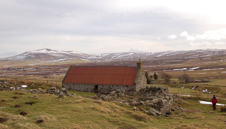 From Bowmans looking towards the Buck - Cabrach