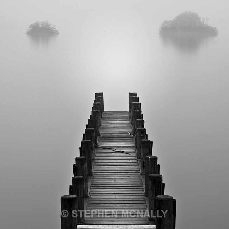 Leading to where  ,Windermere English Lake District - Landscapes