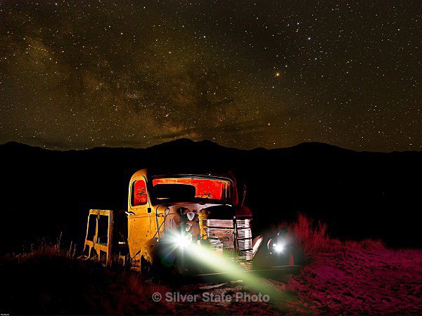 Night with the Truck - Night Photography