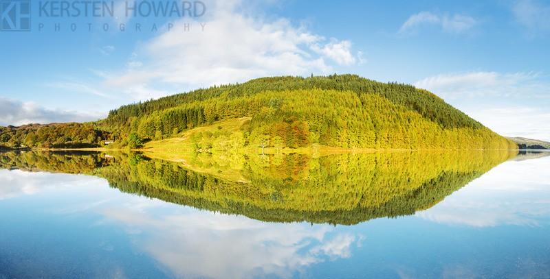 Refelctions Of Autumn - Llyn Geirionydd - Wales
