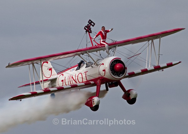 Team Guinot Wing Walkers / Boeing Stearman Biplane