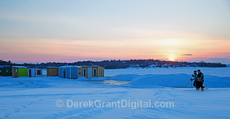 Remains of the Day New Brunswick Canada - Winterscape
