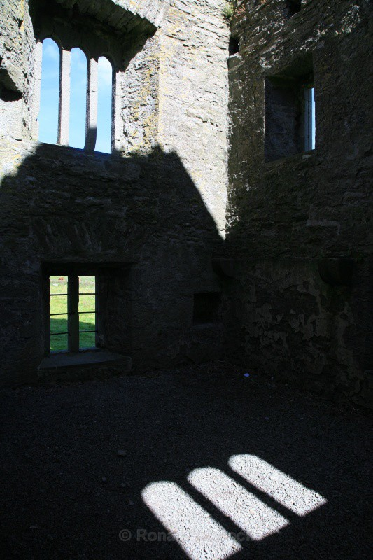 Four Windows - Ruins and Not So Ruined