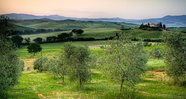 belverdere hay bales - Tuscany