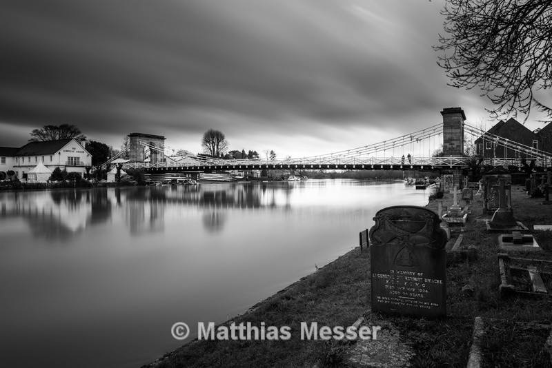 Marlow Suspension Bridge - Landscapes