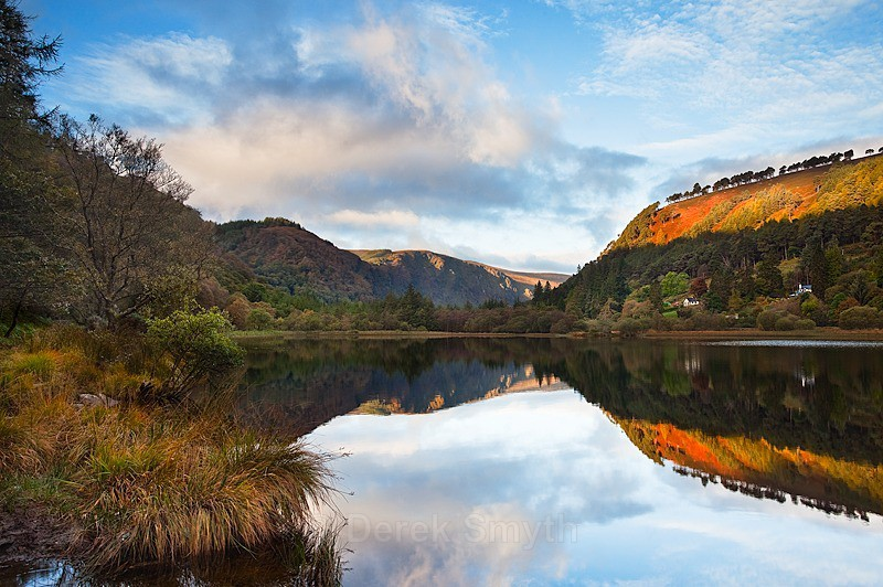 Sunrise at the Glendalough Lower Lake