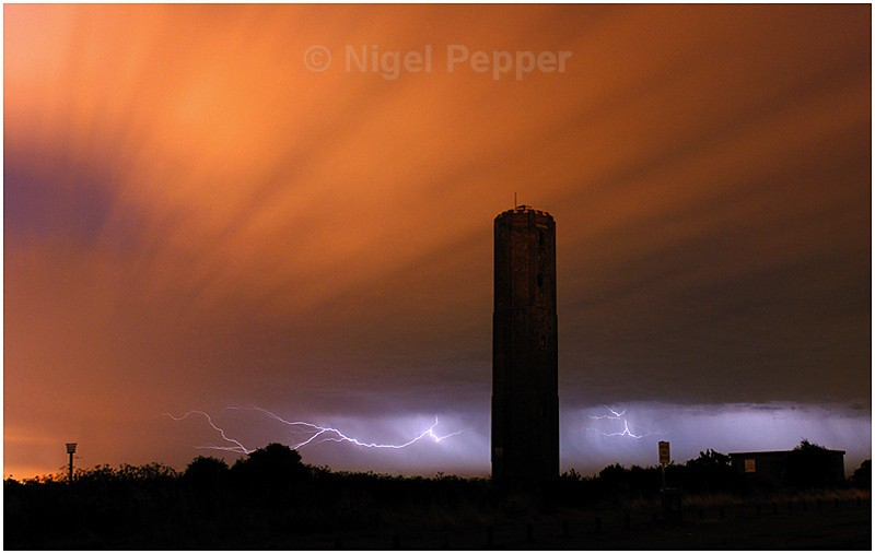 Naze Display - Dramatic Weather