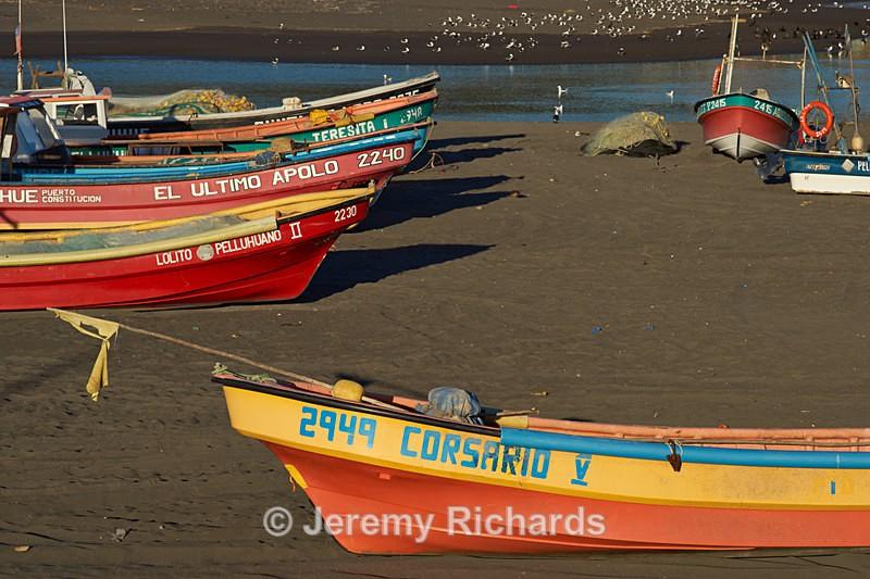 Fishing Boats - Coastal Chile