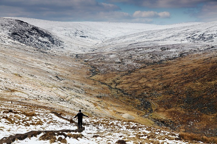 Ryan on Top - Landscapes of Ireland - Glendalough and the Wicklow Mountains
