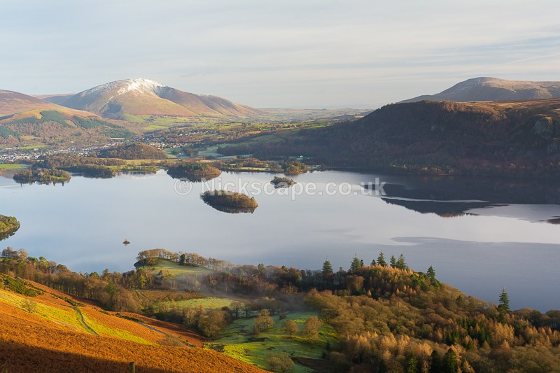 Blencathra & Keswick from Cat Balls   Lake District Photography