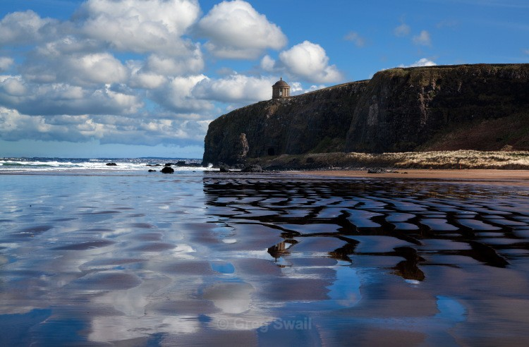 Mussenden Temple and Benone - Causeway Coastal Route (Landscapes and Nature)