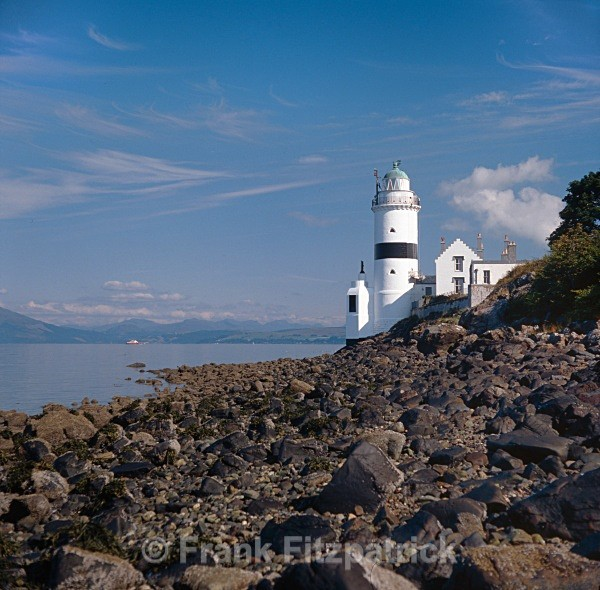 Cloch lighthouse, Inverclyde. - Scottish scenics