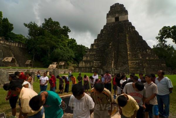Maya Ceremony - Tikal