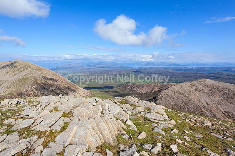 Beinn na Caillich & Beinn Dearg Bheag, Isle of Skye - Landscape format