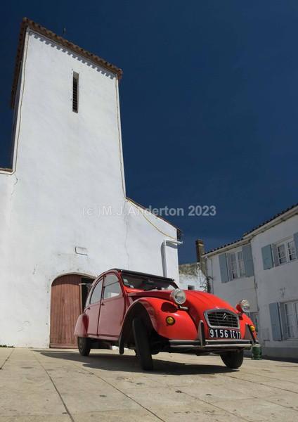 Classic Car,Les Portes-en-Ré, Île de Ré - France