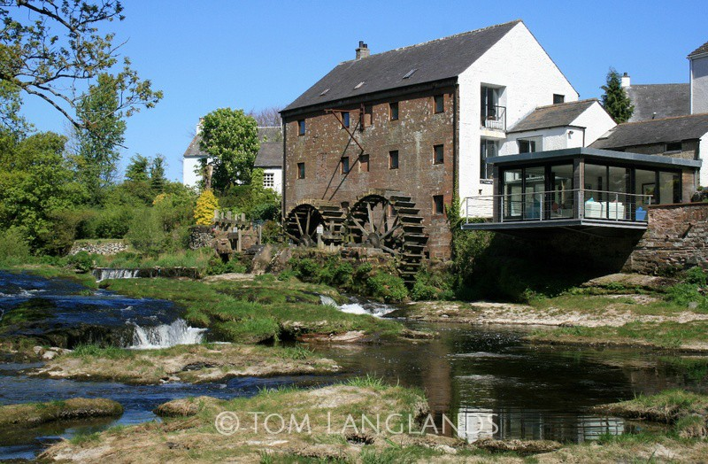 Mill on the River - Landscapes