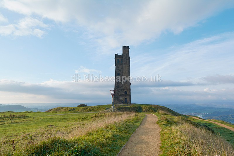 Victoria Tower at Castle Hill, Huddersfield - Yorkshire - Yorkshire