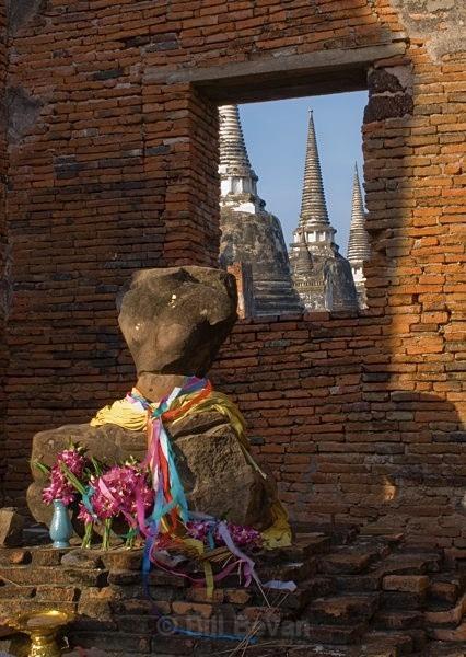 Buddha Offering - Ayutthaya