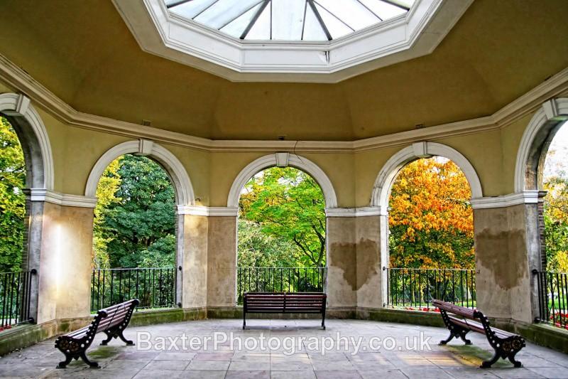 Through The Arches (Solarium I) - The Valley Gardens (Harrogate)