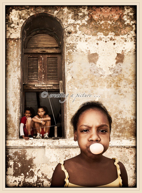 Blowing Bubbles - Cuba