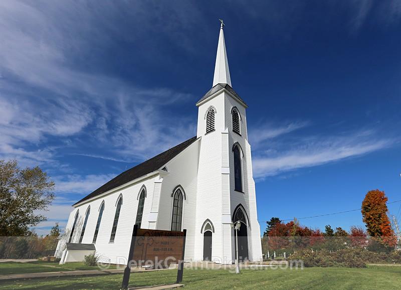 Saint Raphael's Catholic Church ~ Blackville, New Brunswick Canada - 1 - Churches of New Brunswick