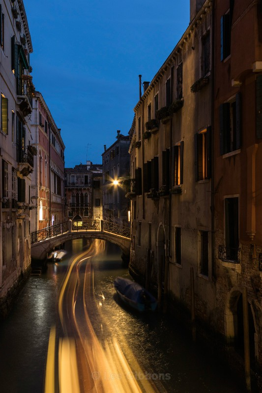 Boat trails - Venice