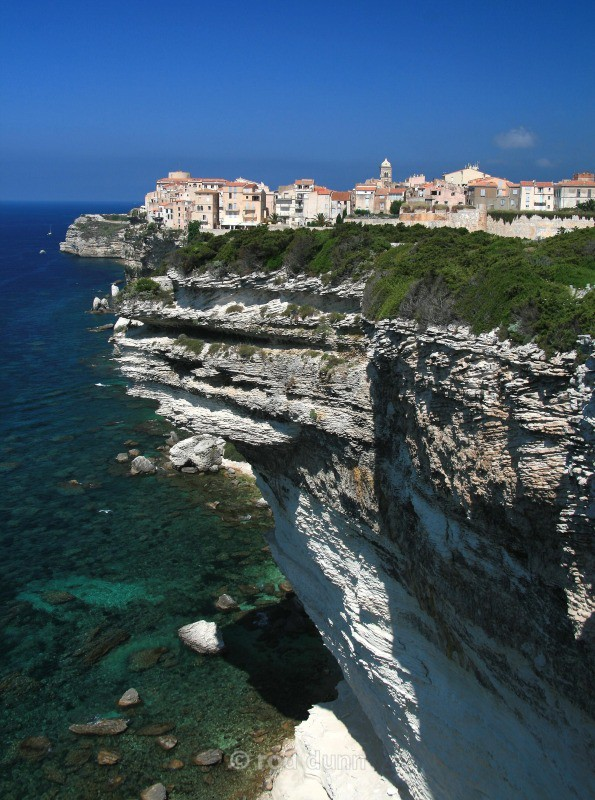 Bonifacio cliffs - Corsica