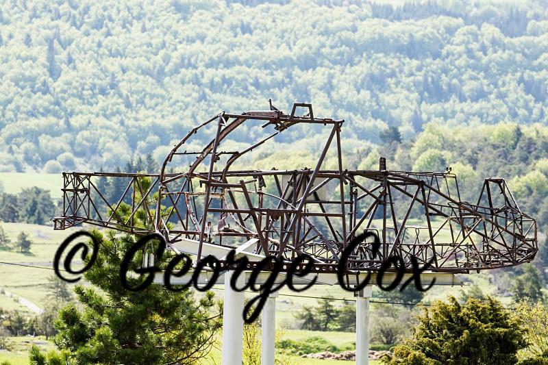 Vercors Glider at Vassieux-en-Vercors - Vercors Landscapes