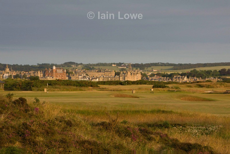 Old Course 9th tee to green - St Andrews Old Course Hole-by-Hole