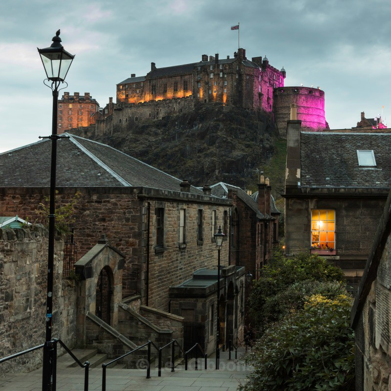 Edinburgh - The Vennel - Edinburgh and the Lothians