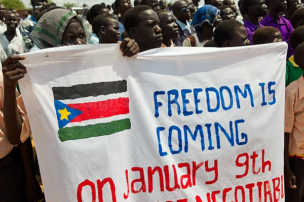 Students Rally for Separation, South Sudan