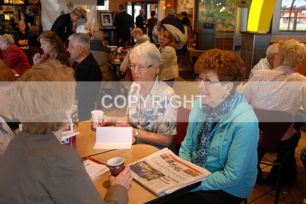 Guests at the Royal Coffee Party - Edmonton / Northern Alberta Branch of the Monarchist League of Canada