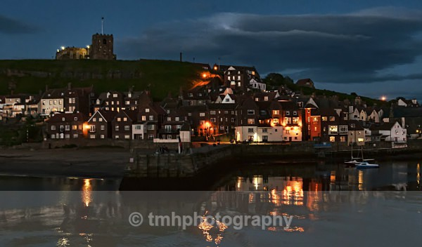 Light over Whitby - Low Light Photography